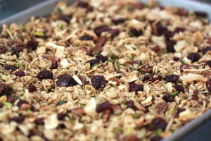 Eleven Madison Park granola made at home