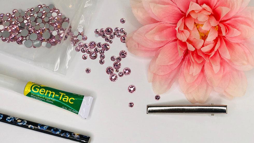 Hair Flower Sparkle Kit
