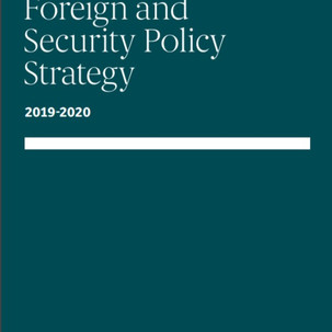 New Foreign & Security Policy Strategy