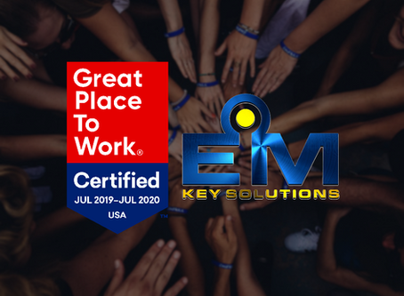 EM Key Solutions Receives Great Place to Work Certification