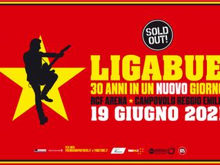 Ligabue, slitta ancora Campovolo: 4 giugno 2022 nuova data