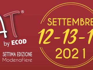 iMEAT CAMBIO DATE: 12-13-14 SETTEMBRE 2021