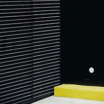 Black Wall with accent color