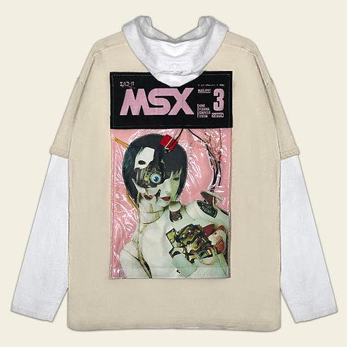MSX LAYERED SWEATSHIRT