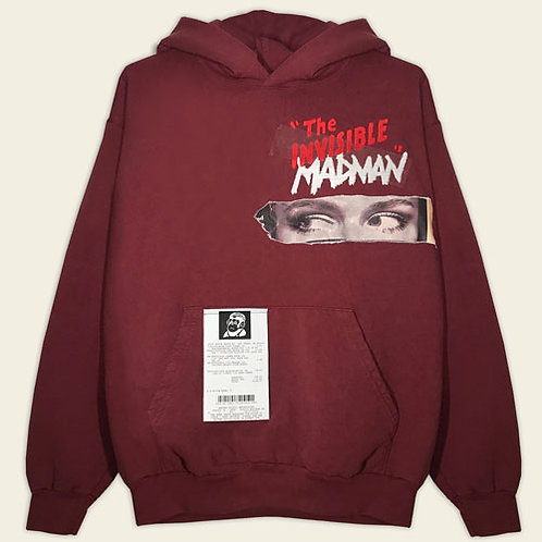 INVISIBLE MADMAN HEAVYWEIGHT HOODIE