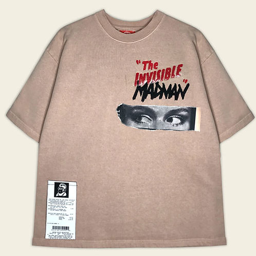 INVISIBLE MADMAN SHORT SLEEVE SWEATSHIRT