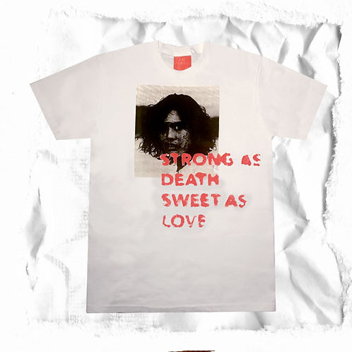 STRONG AS DEATH T SHIRT