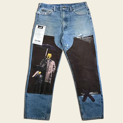 UMBRELLA MAN WIDE LEGGED PANTS