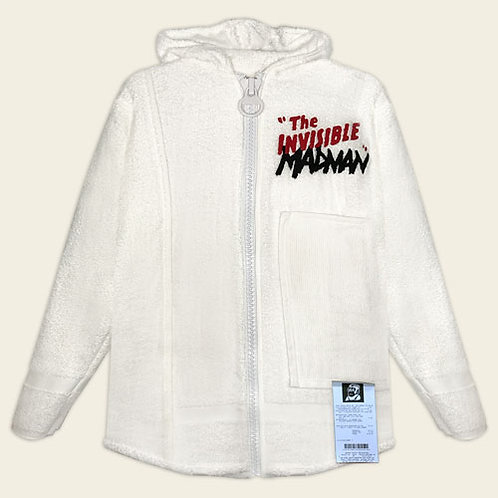 INVISIBLE MADMAN FLEECE LINED HOODIE