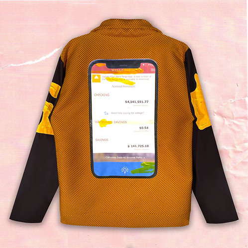 MOBILE BANKING COUCH JACKET