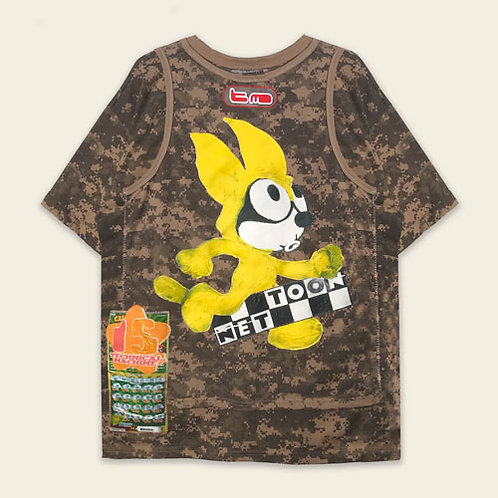 TOON NET DIGITAL CAMO DOUBLE T SHIRT