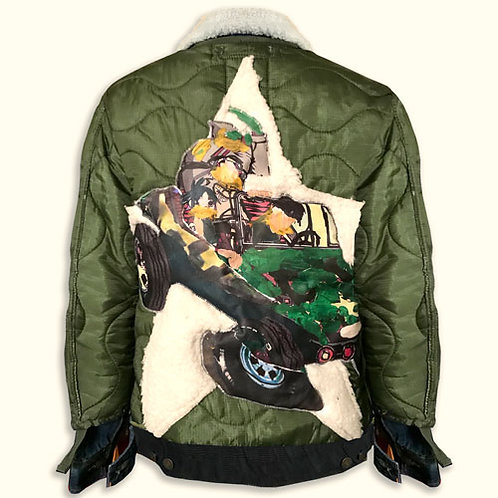 GORILLAZ IN A COUPE JACKET (BLACK)