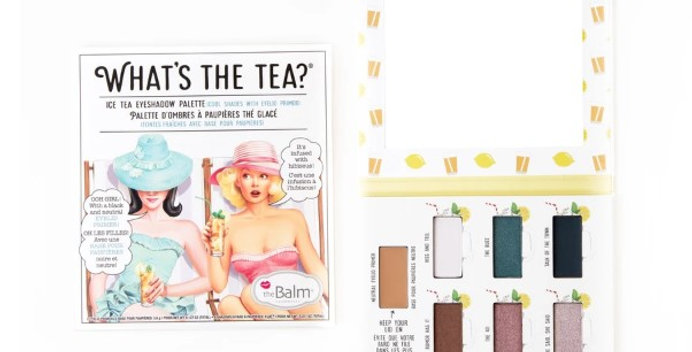 The Balm What's the Tea?Eyeshadow Palette