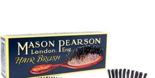 Mason Pearson Regular Popular Bristle and Nylon Dk Ruby