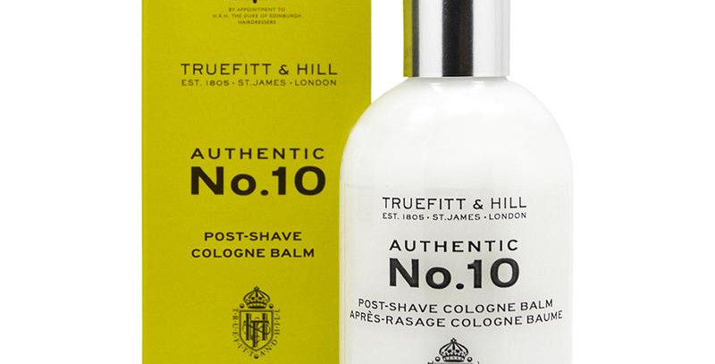 Truefitt and Hill Authentic No. 10 Post Shave Cologne Balm