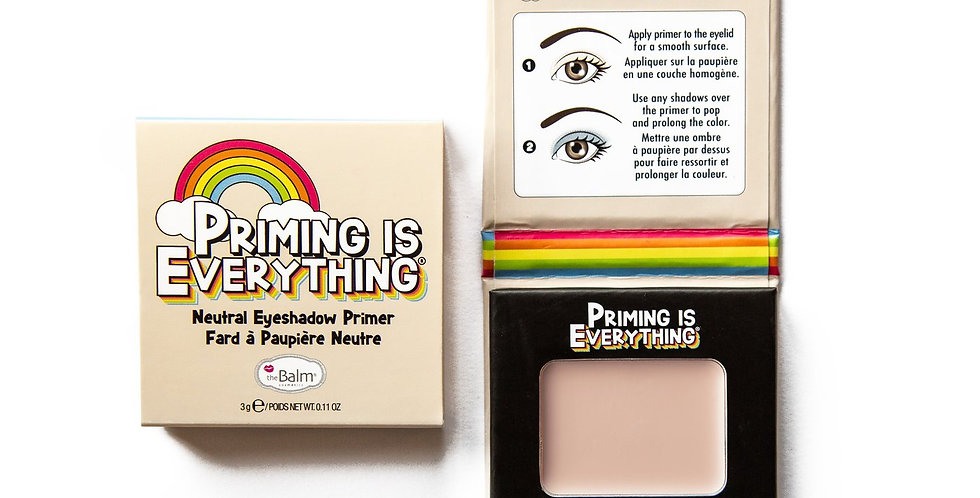 The Balm Priming is Everything