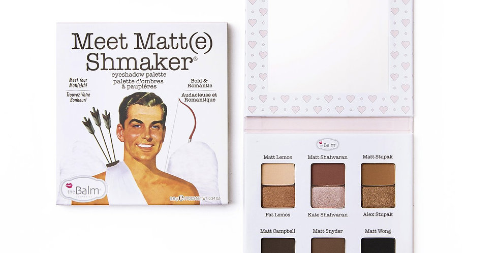 The Balm Meet Matteshmaker Eyeshadow Palette