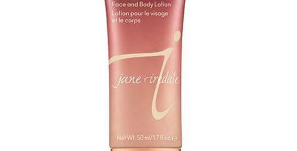 Jane Iredale Golden Shimmer Face Body Lotion -