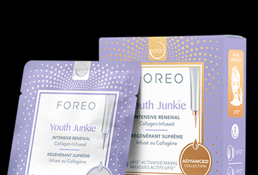 FOREO UFO Mask Youth Junkie x 6