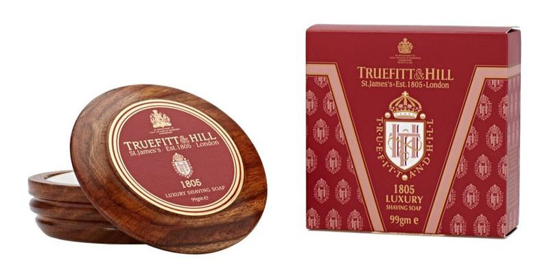 Truefitt and Hill 1805 Luxury Shaving Soap in Wooden Bowl