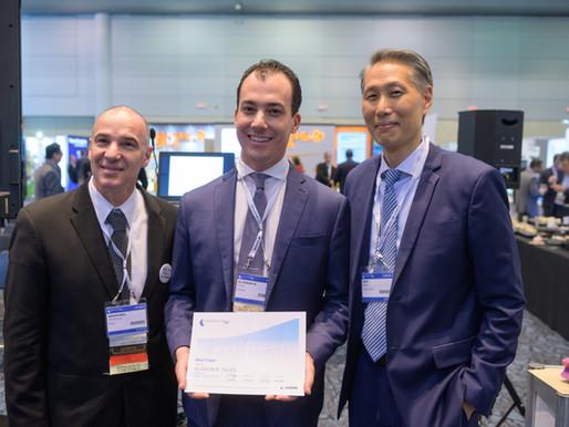 Prêmio de melhor artigo do Global Spine Congress, realizado em Maio de 2019 no Canada.