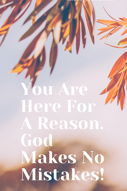 """""""Here For A Reason"""" Phone Wallpaper"""
