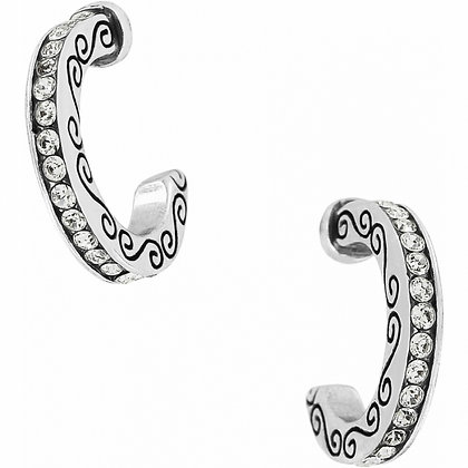 Secret Of Love Mini Hoop Earrings