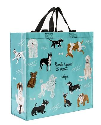 I Love Dogs Shopping Bag