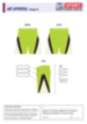 S2 Sports Customized Shorts Design V3