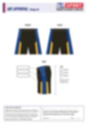 S2 Sports Customized Shorts Design V8
