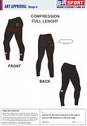 S2 Sports Customized Compression Full Length