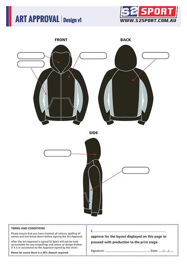 S2sport customized hoodie design v1