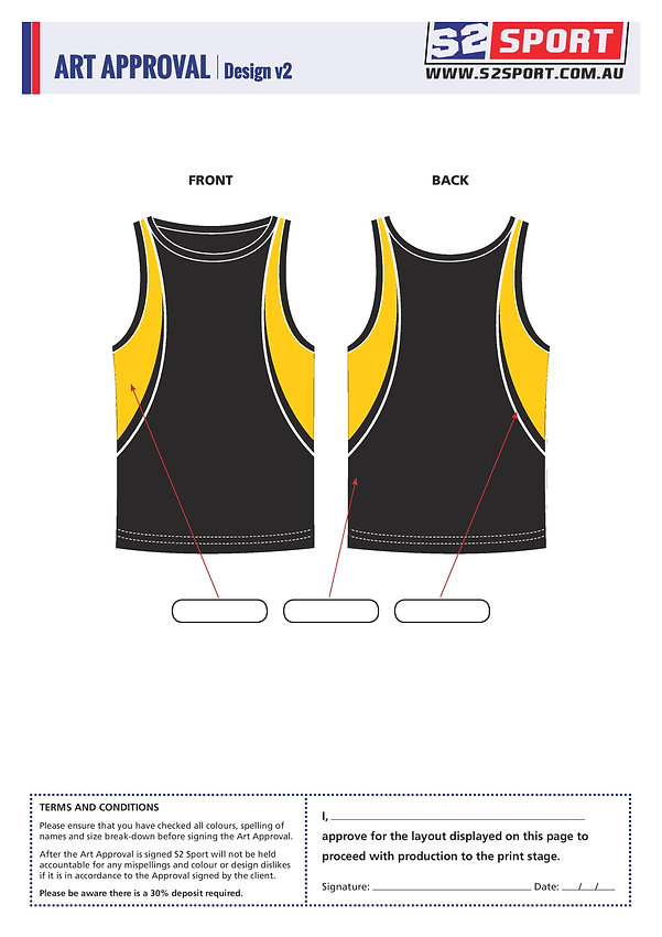 Customized Singlet Design V2