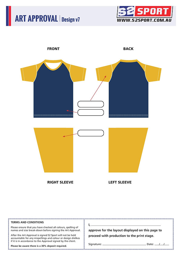 Customized School T-shirt Design V7