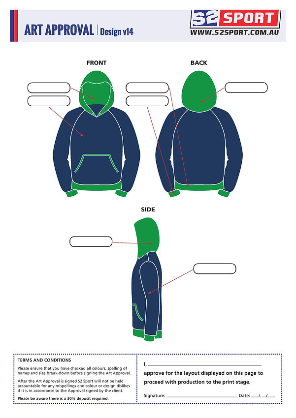 S2sport customized hoodie design v14
