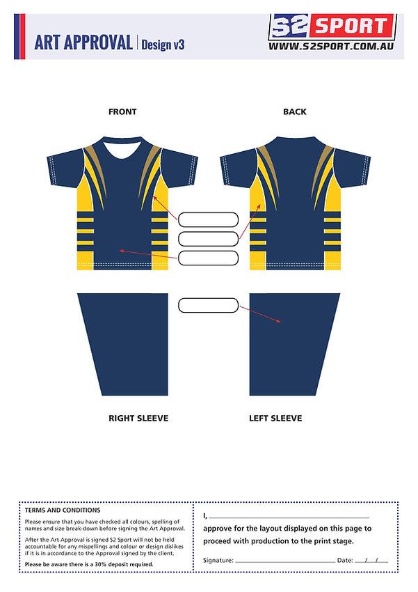 Customized School T-shirt Design V3