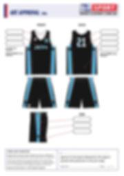 S2 Sports Customized Basketball Design V8 Jets