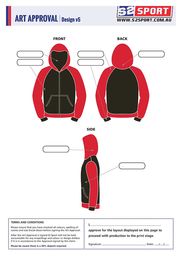 S2sport customized hoodie design v5