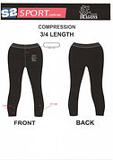 S2 Sports Customized Compression 3/4 Length