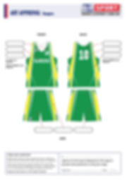 S2 Sports Customized Basketball Design V12 Rangers