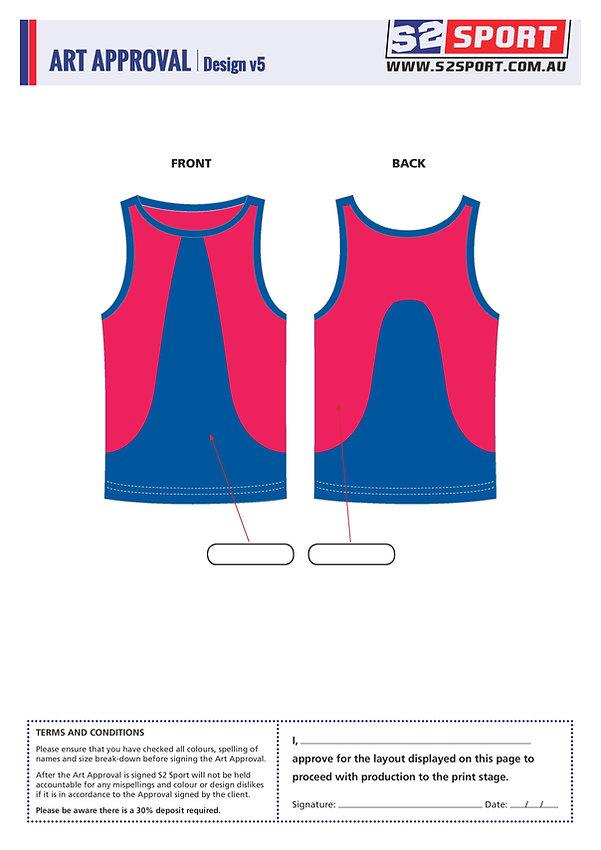 Customized Singlet Design V5