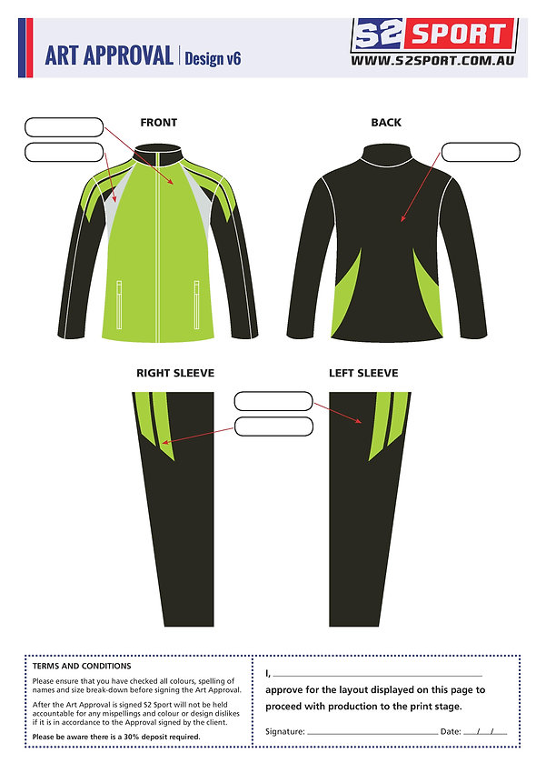 Customized School Jumper Design V7