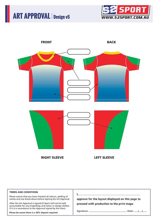 Customized School T-shirt Design V5