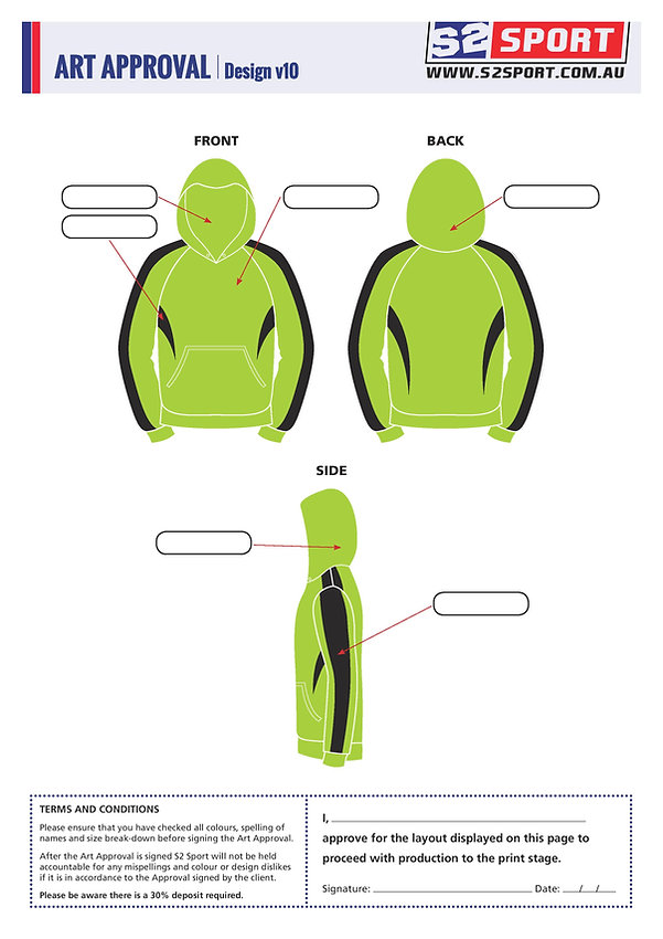S2sport customized hoodie design v10