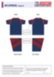 Customized School T-shirt Design V8
