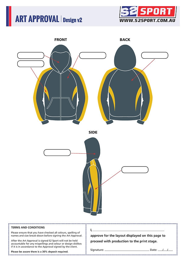 S2sport customized hoodie design v2
