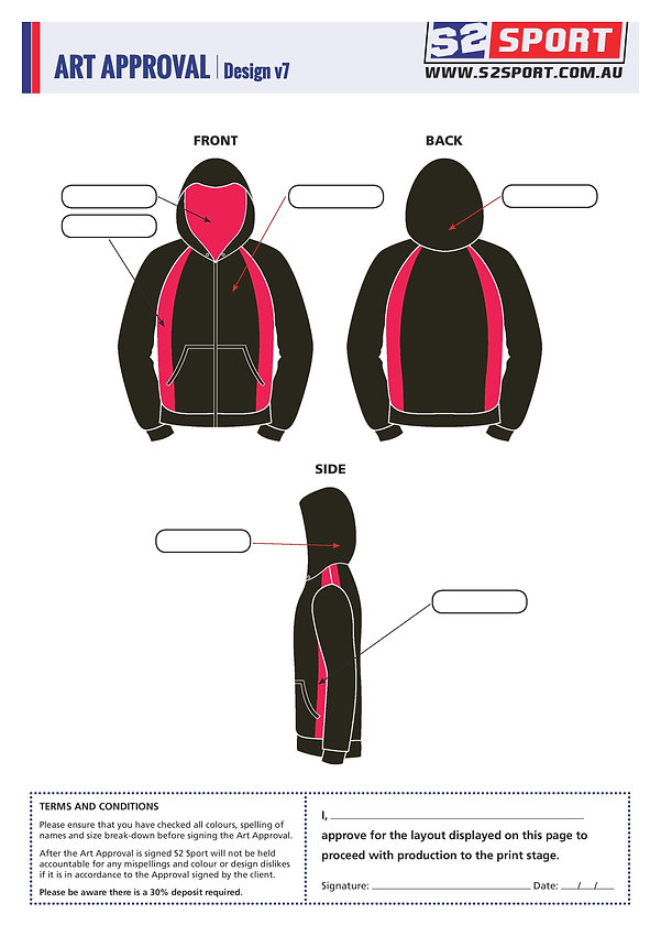 S2sport customized hoodie design v7