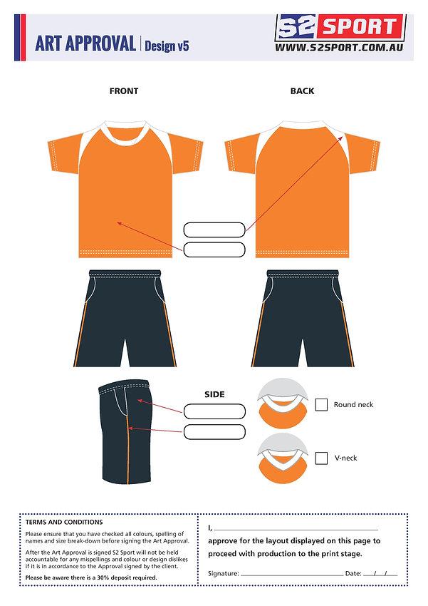 S2 Sports Customized Soccer Design V5