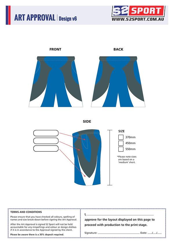 S2 Sports Customized Shorts Design V6