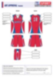 S2 Sports Customized Basketball Design V13 Rockets